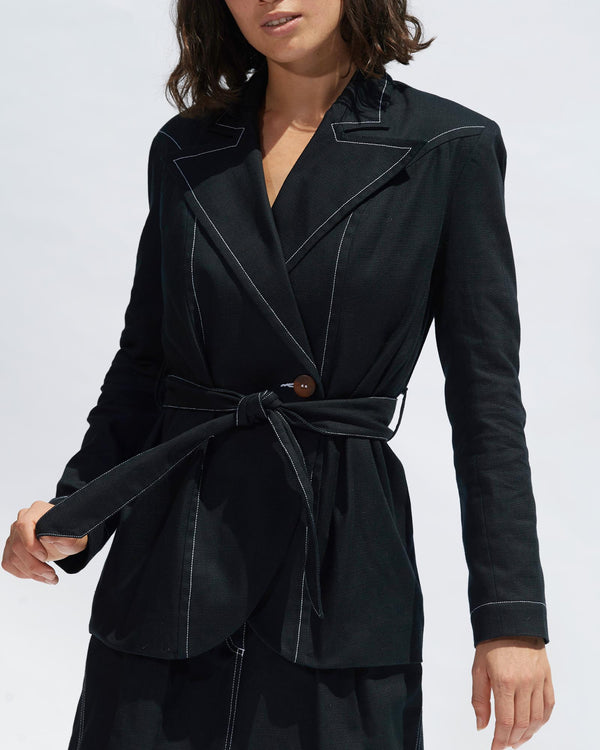 Kelly Blazer - Black - Size 10