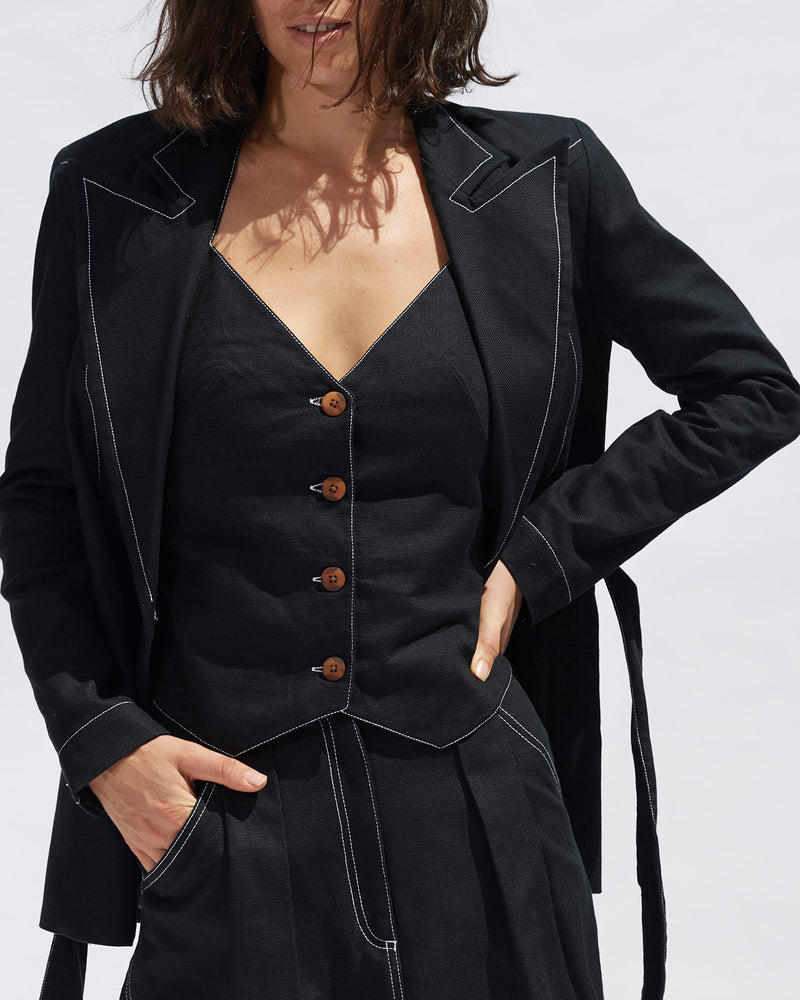 Kelly Blazer - Black