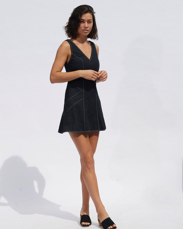 Luce Mini Dress - Black