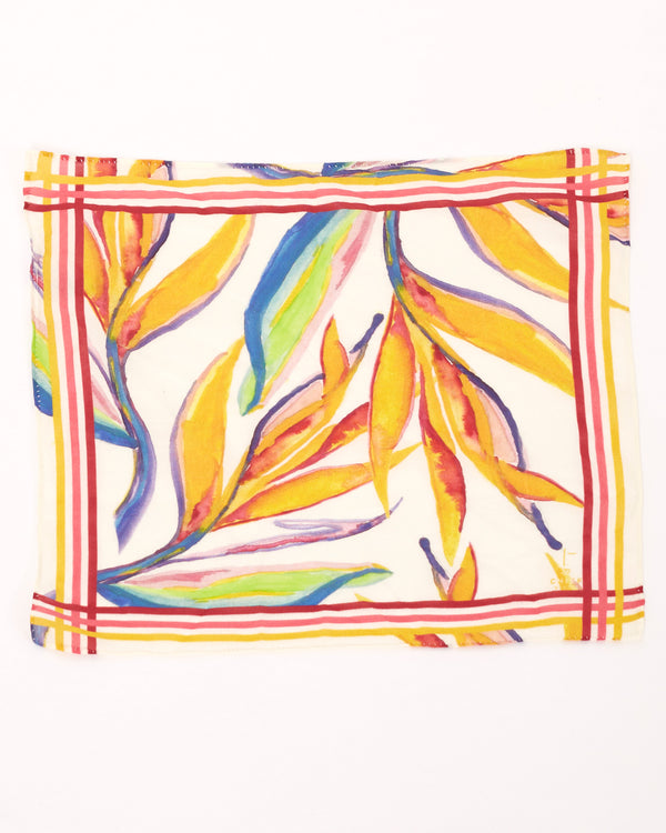 Bird of Paradise Mini Scarf