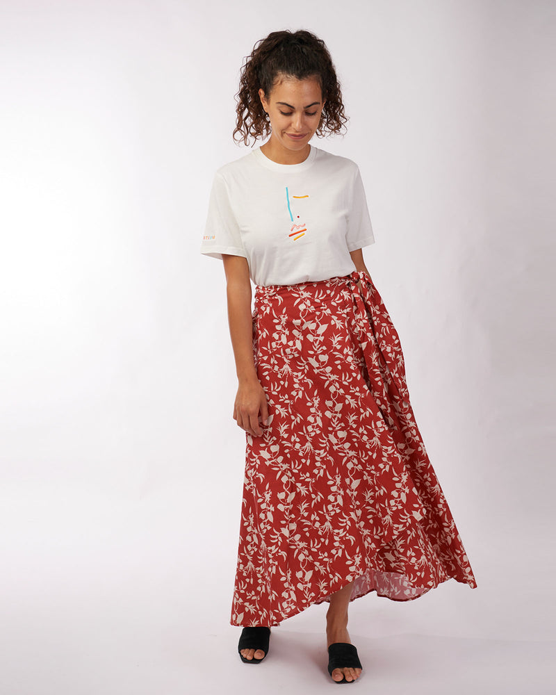Myrah Wrap Skirt
