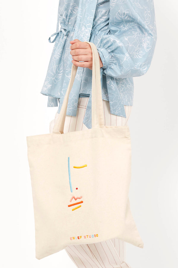 Signature Organic Cotton Tote Bag - Chief Studio