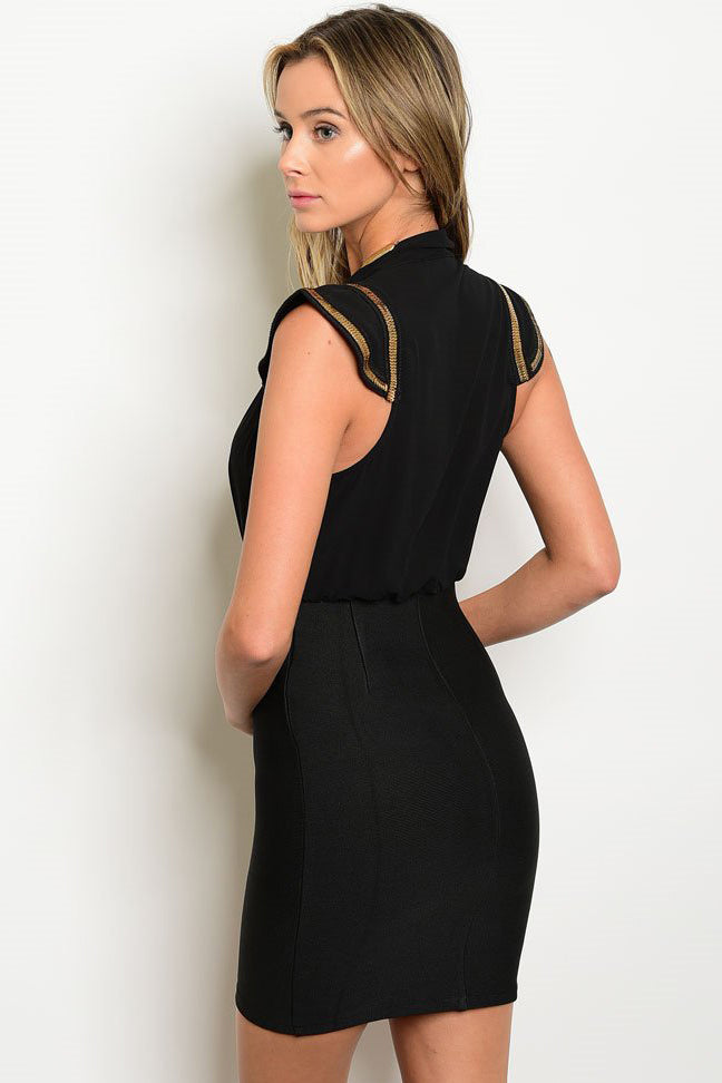 Black Bandage Dress - VESTITI LB