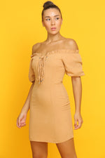 Peachy Dapper Dress - VESTITI LB