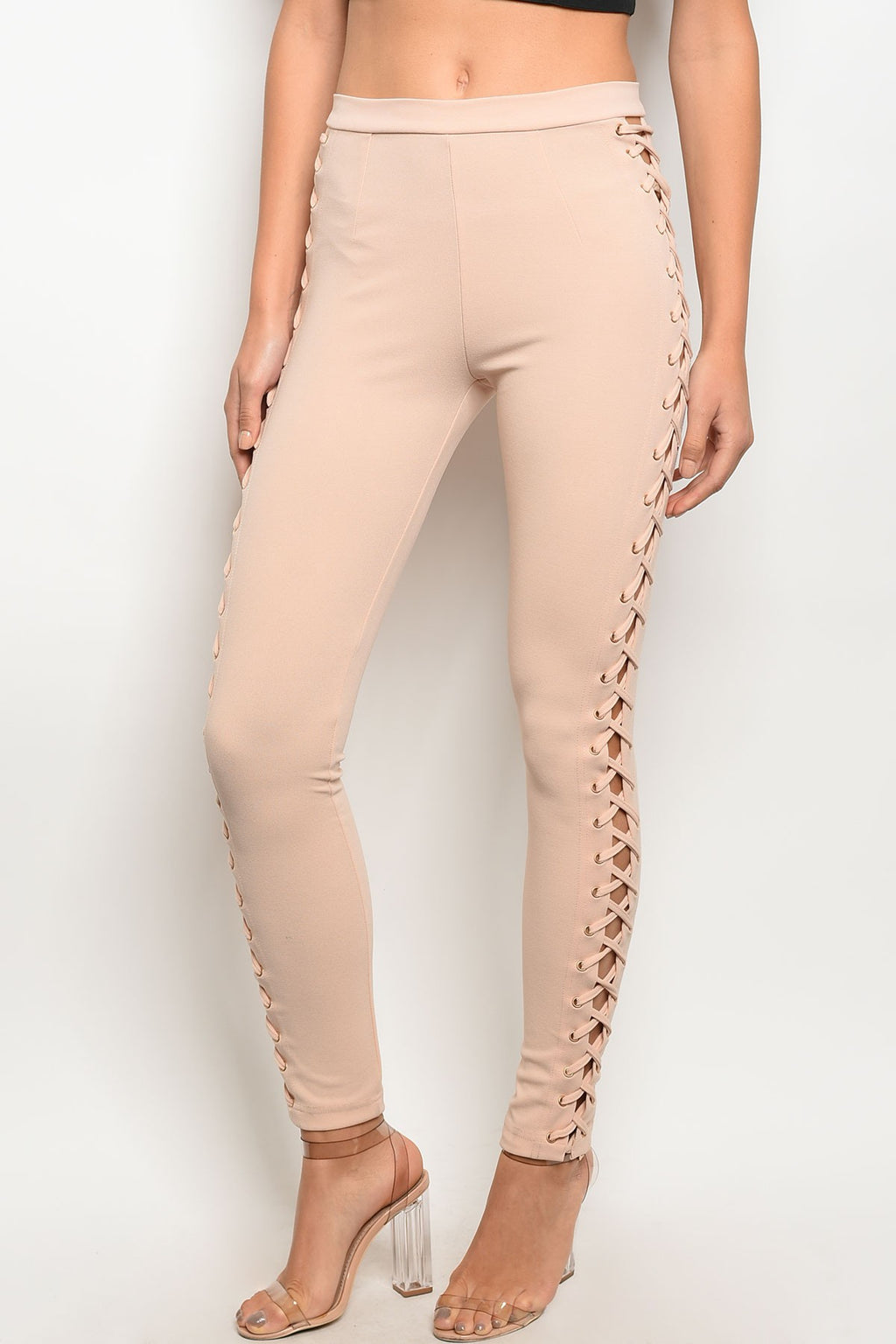 Pink Showoff Leggings - VESTITI LB