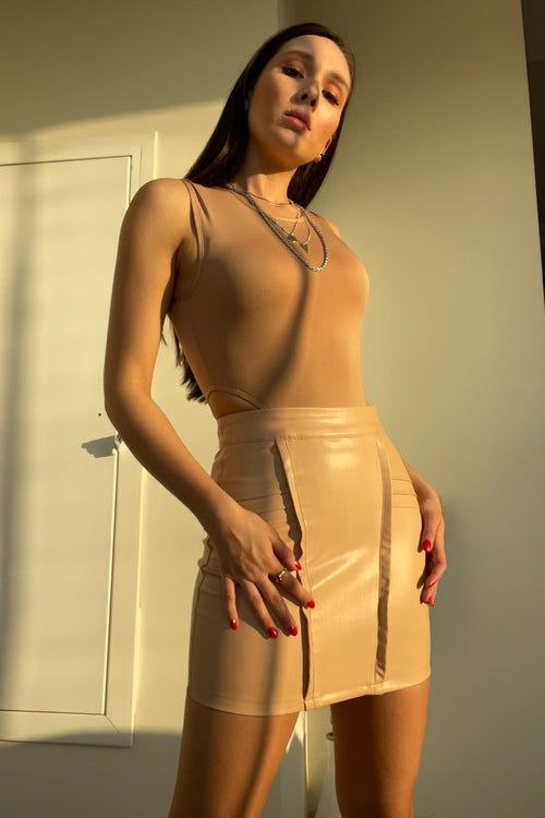 Enticing Skin Skirt