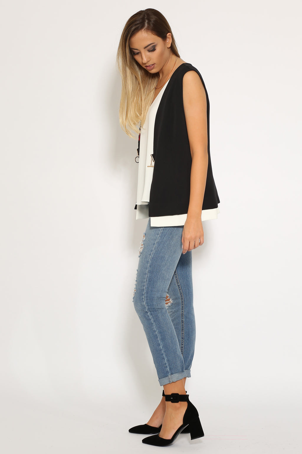 Hot Ripped Jeans - VESTITI LB
