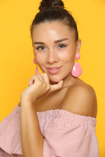 Barbie Pink Earrings - VESTITI LB