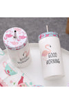 Flamingo Straw Mug - VESTITI LB