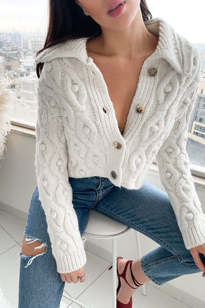Perfected Wool Cardigan