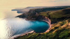 Aerial view beach beautiful cliff - W-Photographie