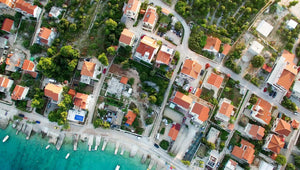High angle view of residential buildings - W-Photographie