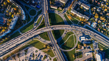 Charger l'image dans la galerie, Aerial photo of buildings and roads - W-Photographie