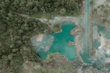 Charger l'image dans la galerie, Aerial photography of blue lake - W-Photographie