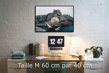 Charger l'image dans la galerie, Aerial view of mountains - W-Photographie