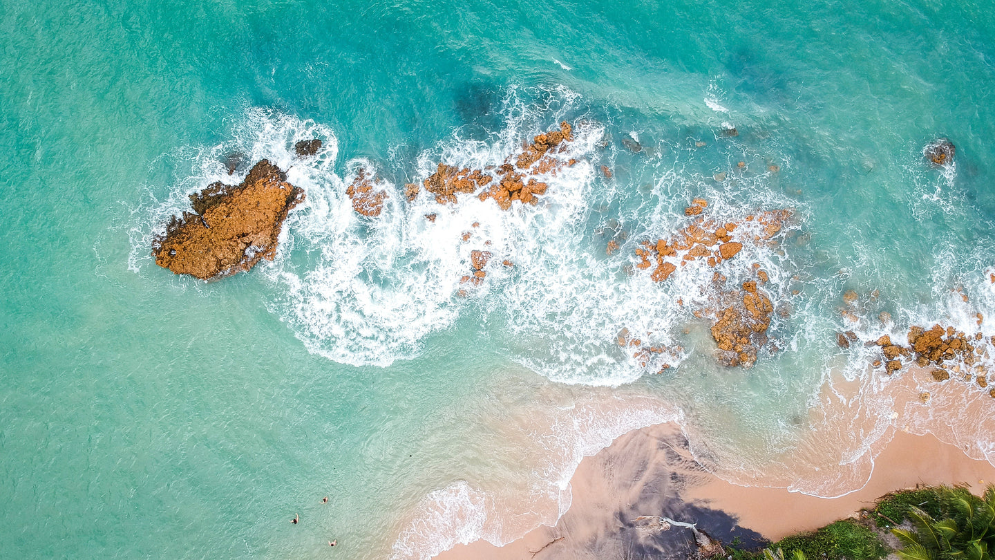 High angle photography of ocean - W-Photographie