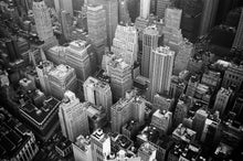 Charger l'image dans la galerie, Aerial view and grayscale high rise buildings photography - W-Photographie