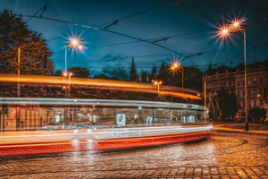 Timelapse photography of vehicule lights on street - W-Photographie