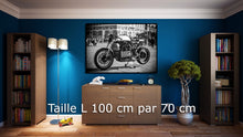 Charger l'image dans la galerie, Person riding motorcycle on road during nightime