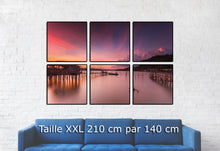 Charger l'image dans la galerie, Scenic view of sea against sky at sunset - W-Photographie