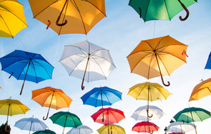 Umbrella art flying - W-Photographie