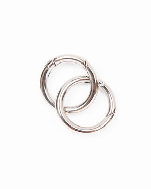 Solid Brass or Silver O-Rings