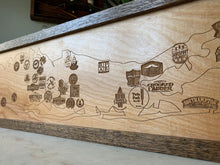 Load image into Gallery viewer, Long Island Craft Brewery Map by Oak Neck Design