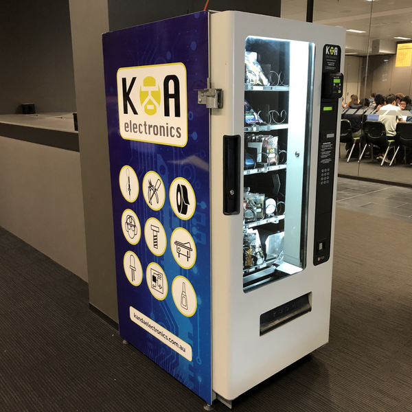 K & A Electronics vending machine at UNSW