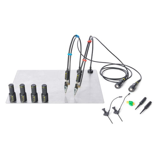 PCBite kit with 2x SP100 100 Mhz hands free oscilloscope probes