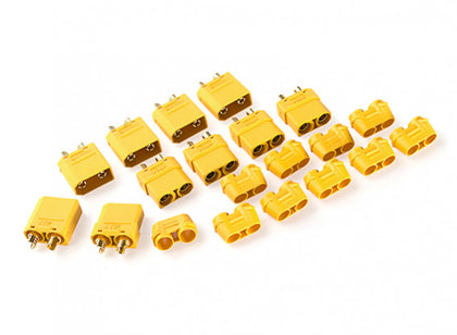 XT90 Connectors Male / Female With End Cap (5 Sets)