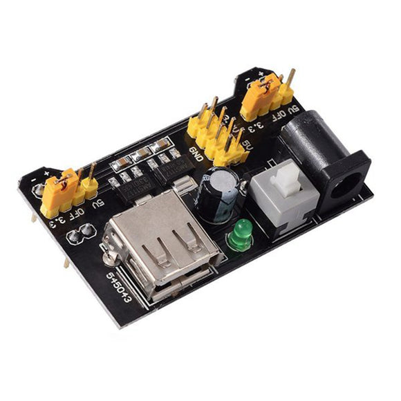 3.3V + 5V Solderless Breadboard Power Supply Module Adaptor