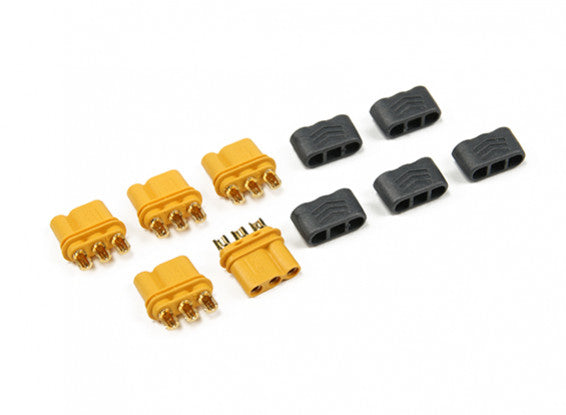 Amass MR30 - 2.0mm 3 Pin Connector (30A) Female Only (5 sets/bag)-Connector-Amass-K and A Electronics