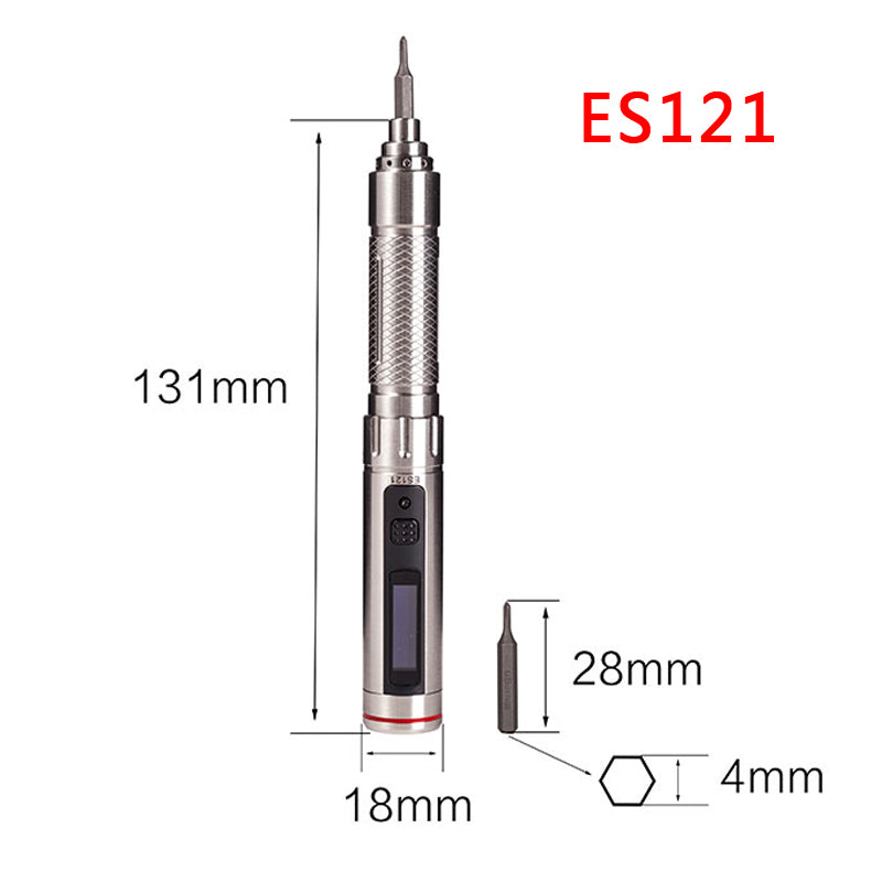 ES121 Motion Control Screwdriver (Steel)-Screwdriver-Miniware-K and A Electronics