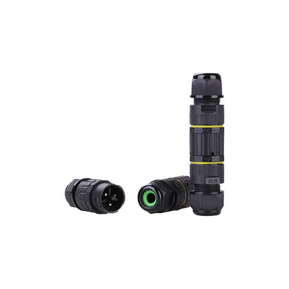 IP68 Waterproof Quick Connector - M16 2 PIN-Connector-K & A Electronics-K and A Electronics
