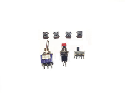 5 Piece Switch Pack-Components-K & A Electronics-K and A Electronics