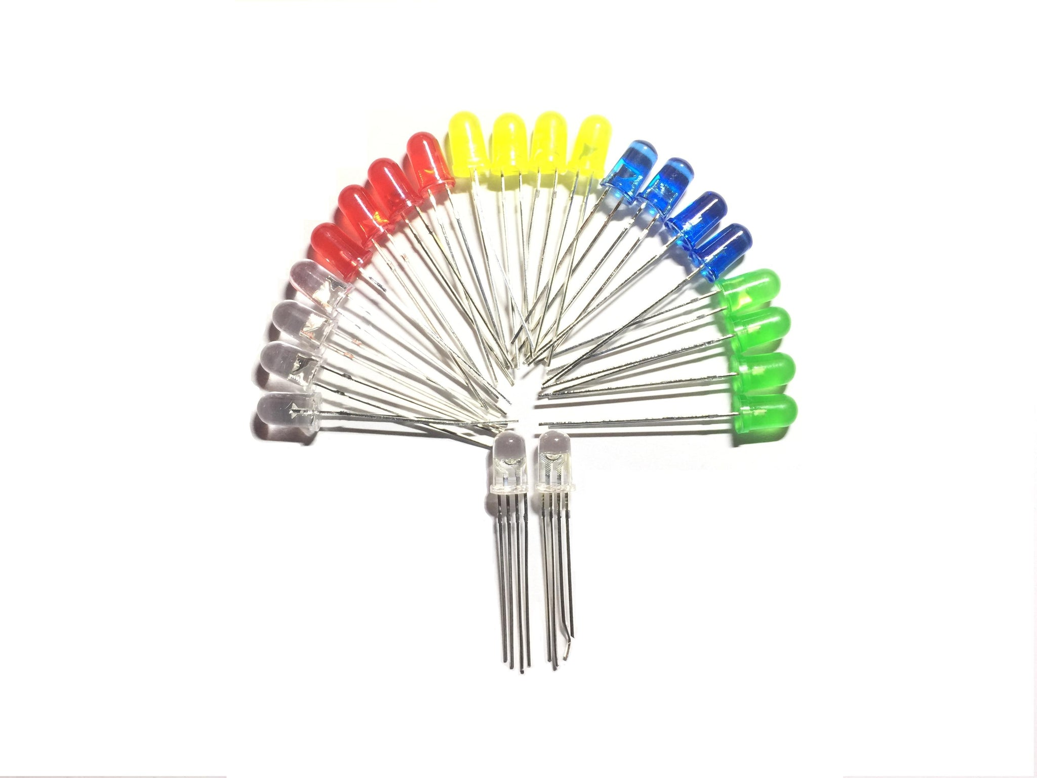 5mm LED Pack-Components-K & A Electronics-K and A Electronics