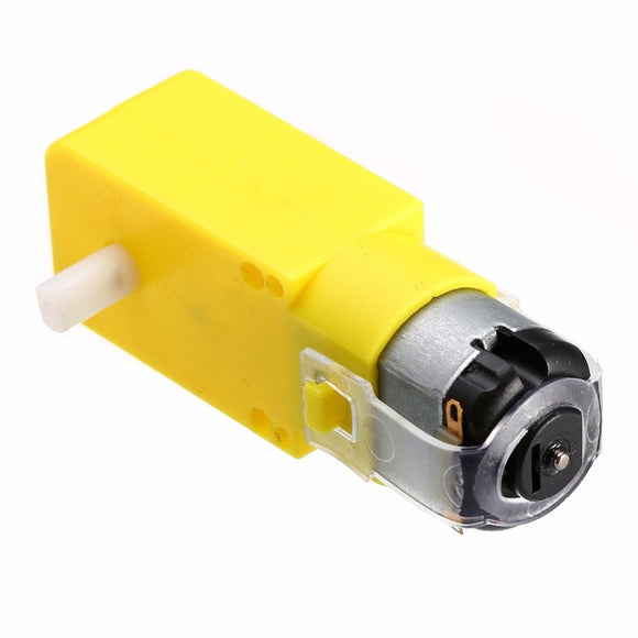 Mini Electric Reduction Plastic Gear Motor - 2 Pack