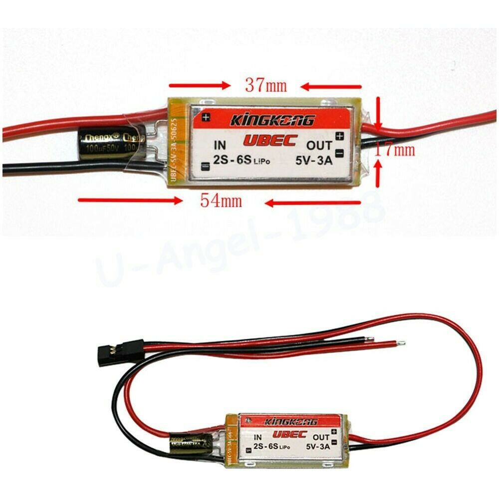 KINGKONG 5V 3A Switching Power UBEC-BEC-Kingkong-K and A Electronics