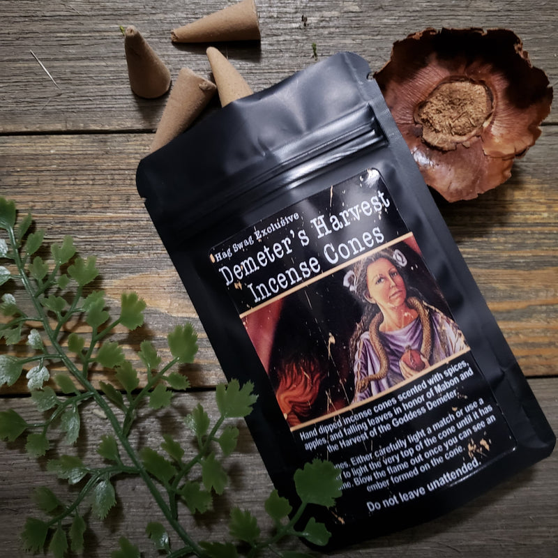 Demeter's Harvest Incense Cones