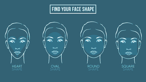 Find your face shape , Vintage sunglasses