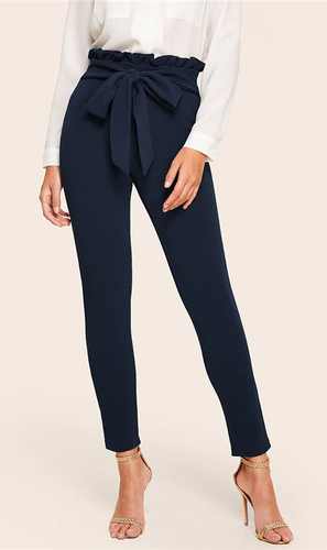 Pantalon HOLLY bleu marine