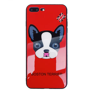 iPhone Case Boston Terrier Dog Protection Shell Soft TPU (All iPhone)