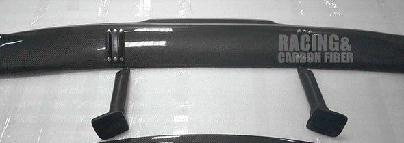 for Audi R8 Carbon Fiber Trunk Spoiler Wing PPI GT Style 2007-2014