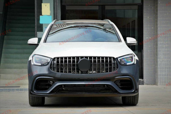 BODYKIT for MERCEDES BENZ GLC X253 AMG 2020+ FRONT BUMPER REAR DIFFUSER