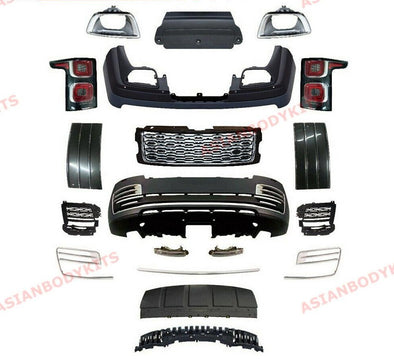 BODY KIT  RANGE ROVER VOGUE L405 BUMPER Front grille TAIL LIGHTS