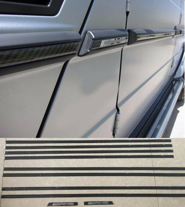 CARBON side molding for Mercedes Benz G class W463 G500 G63 AMG