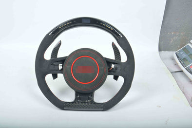 CUSTOM CARBON STEERING WHEEL for AUDI RS3 RS4 RS5 RS6 RS7 RS Q8