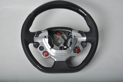 CUSTOM CARBON STEERING WHEEL for FERRARI 488 458 FF F12 F430 ROMA CALIFORNIA
