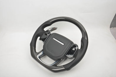 CUSTOM CARBON STEERING WHEEL for LAND ROVER RANGE ROVER SPORT VOGUE VELAR EVOQUE
