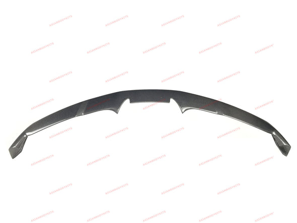 DRY CARBON FIBER FRONT LIP SPLITTERS for FERRARI 488 GTB Spyder 2015 - 2019